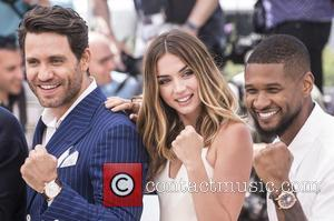 Edgar Ramirez, Ana De Armas , Usher Raymond IV - 69th Cannes Film Festival - 'Hands of Stone' - Photocall...