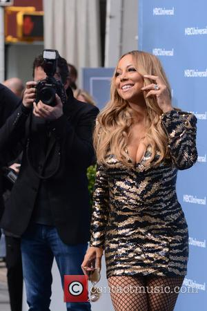 Mariah Carey - NBC Universal 2016 Upfront Presentation - Arrivals - New York, New York, United States - Monday 16th...