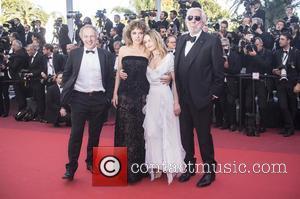Valeria Golino, Vanessa Paradis and Donald Sutherland