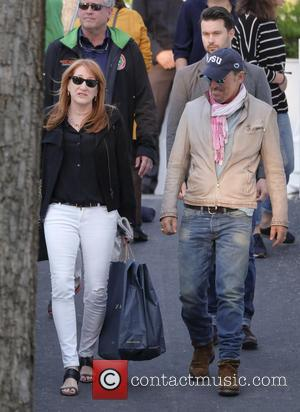 Bruce Springsteen , Patti Scialfa - The Longines Global Champions Tour - Season 2016 Madrid - Celebrity Sightings - Madrid,...