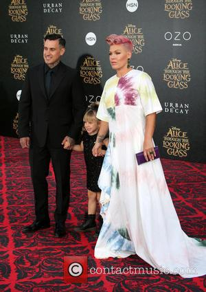 Pink Soldiers On With International Tour Despite Both Kids Being Unwell