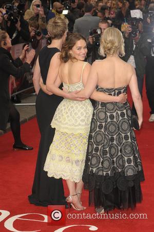 Emilia Clarke, V and Jojo Moyes