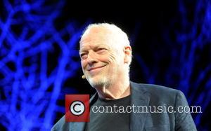 David Gilmour - David Gilmour being interviewed at the Hay Festival, Hay-On-Wye, Powys, Wales at HAY ON WYE - Hay-On-Wye,...