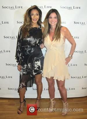 Nicole Scherzinger , Beth Shak - Nicole Scherzinger attends the Social Life Magazine Memorial Day event held at Seasons -...