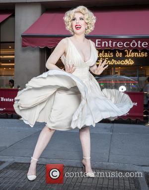 Marilyn Monroe and Anna Zand