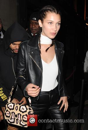 Bella Hadid, The Weeknd and Abęl Makkonen Tesfaye