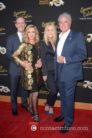 Ted Shackelford, Donna Mills, Joan Van Ark and Kevin Dobson