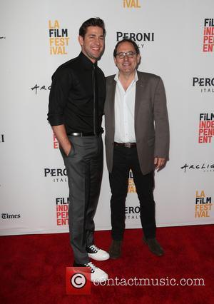 John Krasinski and Michael Barker