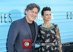 Cameron Crowe and Carla Gugino