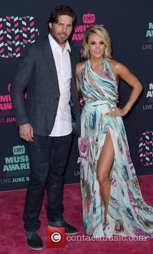Mike Fisher and Carrie Underwood
