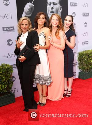 Marlee Matlin, Constance Marie, Katie Leclerc and Vanessa Marano