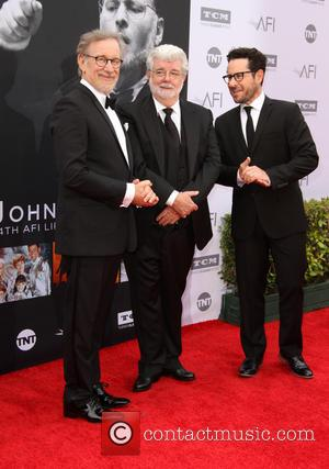 Steven Spielberg, George Lucas and J.j. Abrams