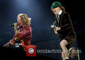 Ac/dc, Acdc, Axl Rose and Angus Young