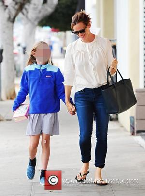 Jennifer Garner and Violet Affleck