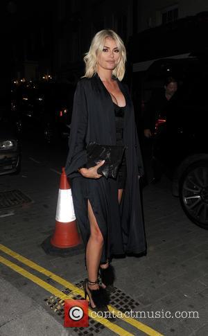 Kourtney Kardashian, Chloe Simms and Lindsay Lohan