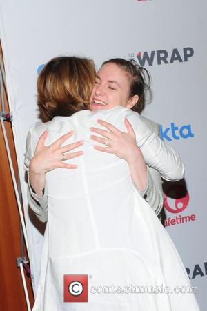 Sharon Waxman and Lena Dunham