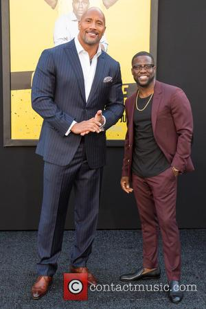 Dwayne Johnson and Kevin Hart