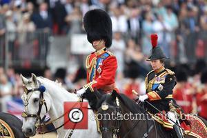 Prince William, The Duke Of Cambridge and Princess Anne
