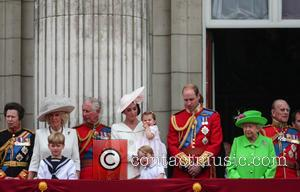 Camilla Duchess Of Cornwall, Prince Charles Prince Of Wales, Catherine Duchess Of Cambridge, Kate Middleton, Princess Charlotte, Prince George, Prince William Duke Of Cambridge, Queen Elizabeth Ii, Prince Philip Duke Of Edinburgh and Princess Anne