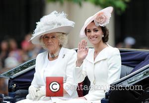 Duchess Of Cornwall and Duchess Of Cambridge