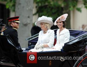 Prince Harry, Duchess Of Cornwall and Duchess Of Cambridge