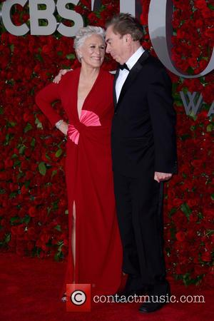Glenn Close and Andrew Lloyd Webber