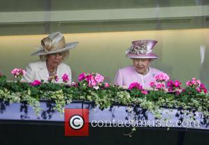 Queen Elizabeth Ii and Camilla Duchess Of Cornwall