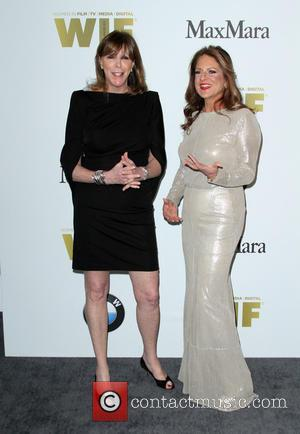 Jane Rosenthal and Women In Film President Cathy Schulman