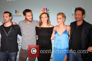 Aquarius Cast, Gethin Anthony, Grey Damon, Michaela Mcmanus, Claire Holt and David Duchovny