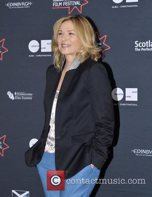Kim Cattrall Angers Family After Installing New Headstone With Her Name Engraved On It