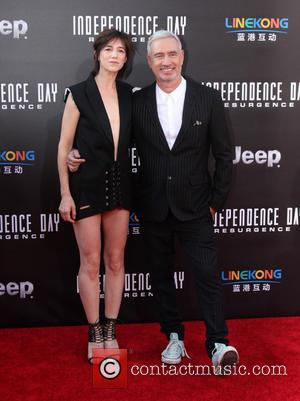 Charlotte Gainsbourg and Roland Emmerich