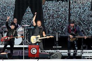 Bruce Springsteen, Steven Van Zandt, Max Weinberg and Nils Lofgren