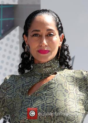 Tracee Ellis Ross co-hosted the 2016 BET Awards with Anthony Anderson. She's seen entering the event held at The Microsoft...
