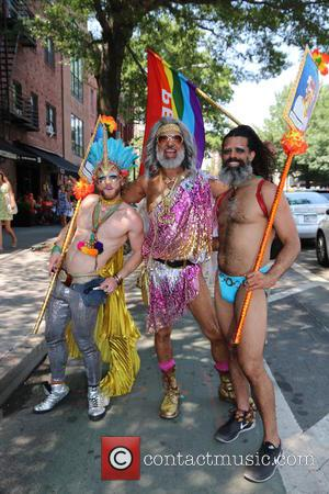 Atmosphere at the New York City Pride March 2016 - United States - Sunday 26th June 2016