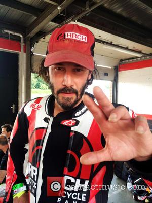 Keanu Reeves and Brands Hatch