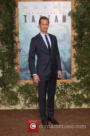 Actor Alexander Skarsgard at the premiere of 'The Legend Of Tarzan' held at the Dolby Theater. Skarsgard plays the lead...