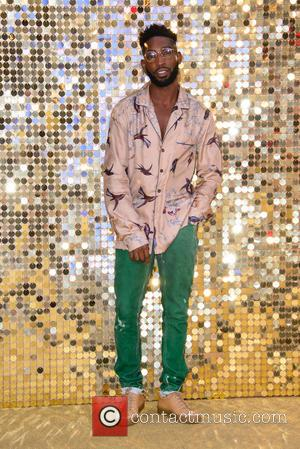 Tinie Tempah at the World Premiere of Jennifer Saunders and Joanna Lumley's new film  'Absolutely Fabulous: The Movie' held...