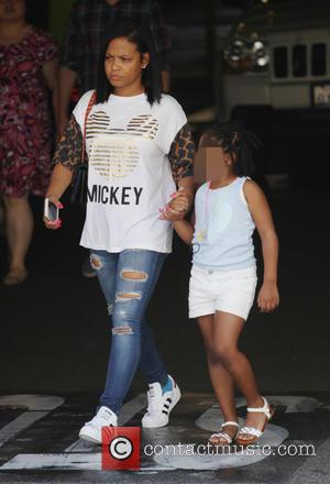A relaxed and make up free Christina Milian takes her daughter Violet shopping in Studio City. California, United States -...