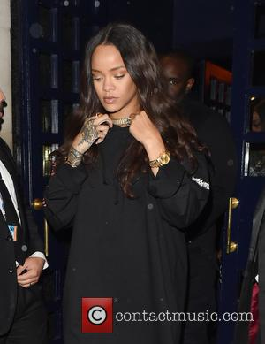 Rihanna and Drake pictured leaving Tramps nightclub in London at 4.30am seconds apart. The pair were seen out for the...