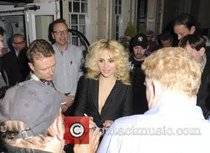 Singer Pixie Lott seen leaving the Theatre Royal Haymarket. Pixie has just begun a run as Holly Golightly in Breakfast...