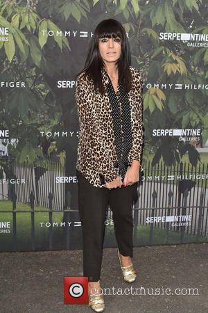TV presenter Claudia Winkleman seen arriving at the Serpentine Gallery Summer Party held at Kensington Gardens, London, United Kingdom -...