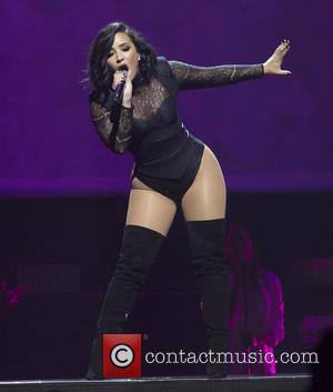 Demi Lovato seen performing alone and with performing on their 2016 Honda Civic Tour: Future Now held at Barclays Center...