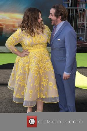 Melissa Mccarthy, Ben Falcone and Ghostbusters