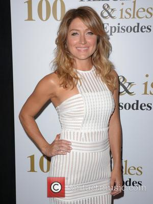 Sasha Alexander seen alone and with co-stars Jordan Bridges and Sharon Lawrence on the red carpet at Cicada. The stars...