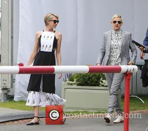 Ellen Degeneres and Portia DiRossi travelled to the UK and visited The All England Lawn Tennis Club at Wimbledon to...