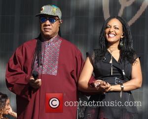 Stevie Wonder and Wayna Wondwossen