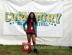 Beverley Knight adding a little bit of soul to the proceedings at Cornbury Music Festival 2016 held at the Great...