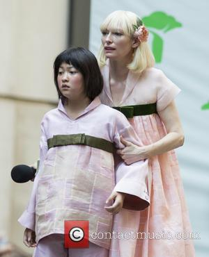 Seo-hyeon Ahn and Tilda Swinton