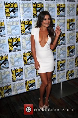 Lea Michele at the Comic-Con International: San Diego photocall for 'Scream Queens' -  California, United States - Saturday 23rd...