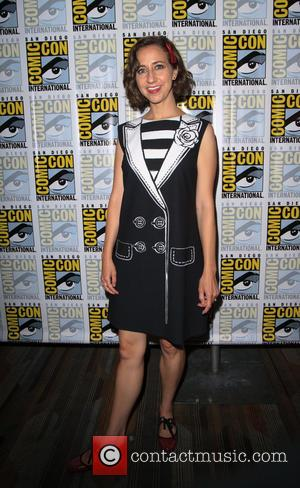 Kristen Schaal at the Comic-Con International: San Diego photocall for 'The Last Man on Earth', San Diego, California, United States...
